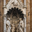 Orsanmichele decoration, Florence — Stock Photo