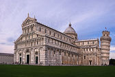Pisan Duomo (Cathedral) at sunset, Pisa, Tuscany, Italy — Stock Photo
