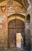San gimignano vieja ciudad, toscana, italia — Foto de Stock