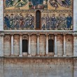 San Frediano church facade, Lucca, Tuscany, Italy — Stock Photo