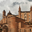 The Ducal Palace of Urbino, Marche, Italy — Stock Photo #4110073
