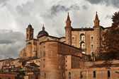 The Ducal Palace of Urbino, Marche, Italy — Stock Photo