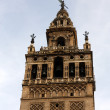 Stock Photo: Sunset in Sevilla. La Giralda.
