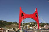 La salve мост, эускади, бильбао. — Стоковое фото