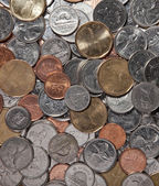 Canadian Coins — Stock Photo