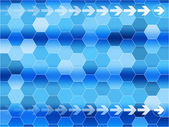 Blue communications background — Stock Vector