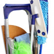 Stock Photo: Tools for rooms cleaning
