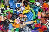 Old forgotten broken toys — Foto de Stock