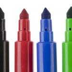 Usual felt-tip pens — Stock Photo