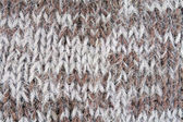 Abstract interlacing of knitted fibres — Stock Photo