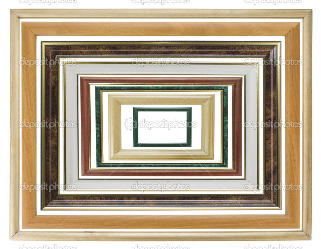 木相片框架集