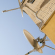Stock Photo: Aerials of satellite television