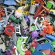 Stock Photo: Old forgotten broken toys