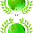 Green earth - Foto de Stock