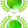 Green earth - Stock Photo