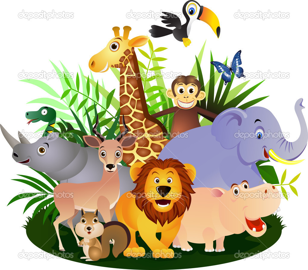 Vector Animal cartoon — Imagen vectorial #5202534