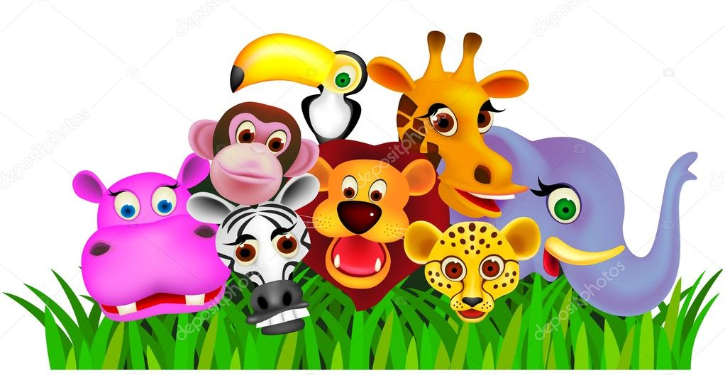 Vector illustration of animal cartoon  Stock Vector #5287221