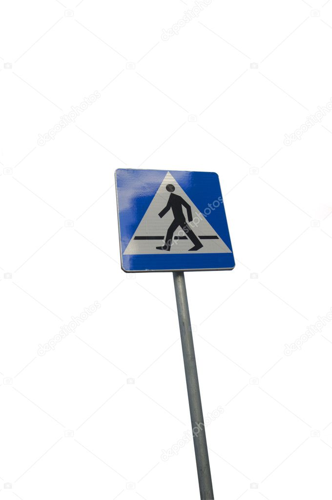An image of blue sign — Stock Photo #4918787