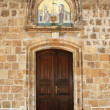 Entrance of the church — Foto de Stock
