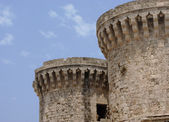 Citadel of Rhodes — Stock Photo