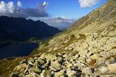 Dağlar göller — Stok fotoğraf