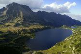 Lakes in mountains — Stock Photo