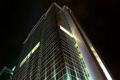 Tower block at night — Stock Photo