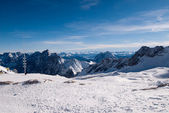 Mountains in the Zugspitze, Germany — Stock fotografie