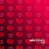 Cute romantic Valentine's Day background — Stok fotoğraf