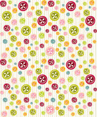 Cute background with buttons — Stock Photo