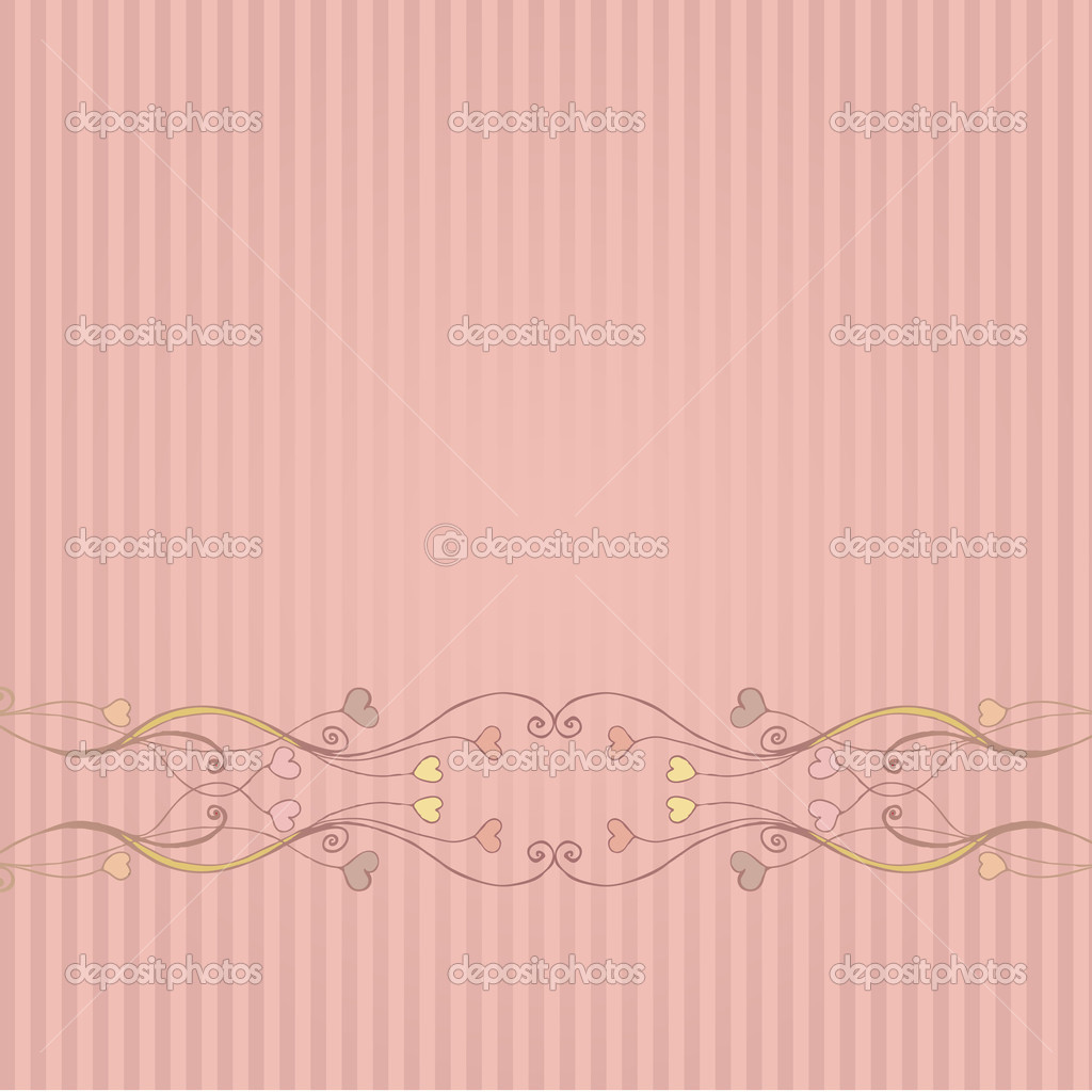 Cute floral romantic Valentine's Day background — Stock Photo #4750225