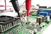 Pruebas de hardware — Foto de Stock