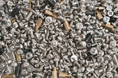Screws, nuts and bolts — Stock Photo