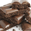 Porous chocolate 1 — Stock Photo