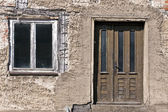Fenster und Tür — Stock Photo
