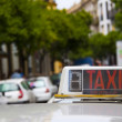 Taxischild — Stock Photo