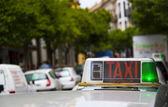 Taxischild — Stock fotografie