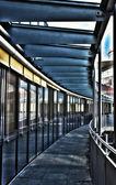 Laubengang — Stock Photo