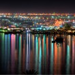 Stock Photo: NaamBay at night, Sharm al Sheikh, Egypt