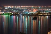 Naama Bay at night, Sharm al Sheikh, Egypt — Stock Photo