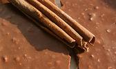 Chocolate & cinnamon — Foto Stock