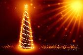 Melhor fundo de árvore de natal — Foto Stock