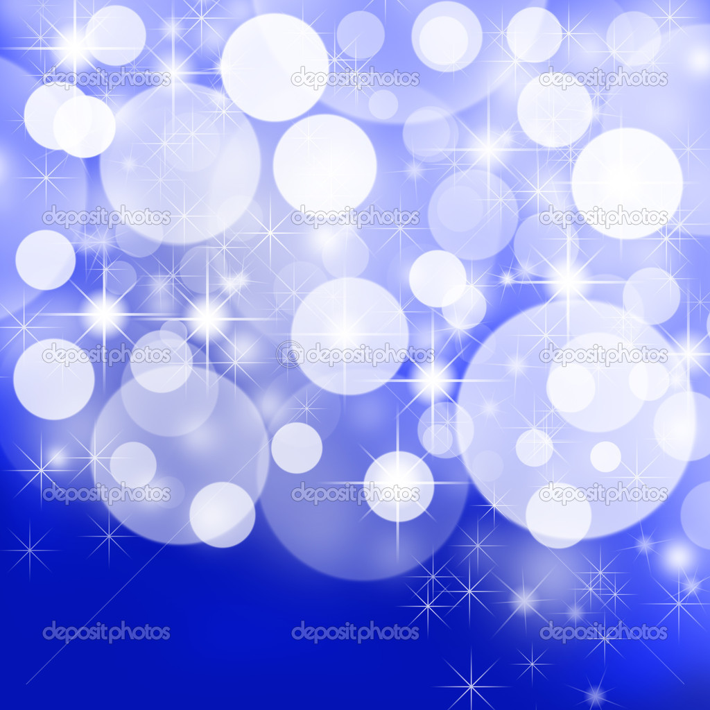Abstract christmas background with stars and snowflakes.  — Stock Photo #4512272