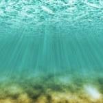 en vertu de la scène de l'eau — Photo