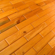 Wooden pine tiles — Stock Photo