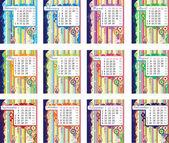 Calendario para 2011 — Vector de stock