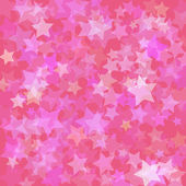 Stars pink background — Stock Vector