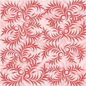 Pink leaf background — Stock Vector