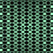 幾何学的な緑の装飾的な背景 — ストックベクタ