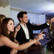 Ordering drinks at the bar — Stock Photo #4596625